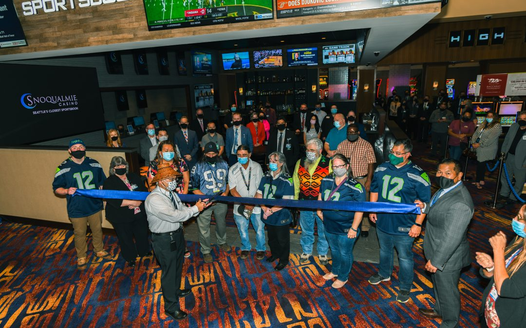 Snoqualmie Casino Launches First Sportsbook in Washington State on Opening Day of the NFL Season